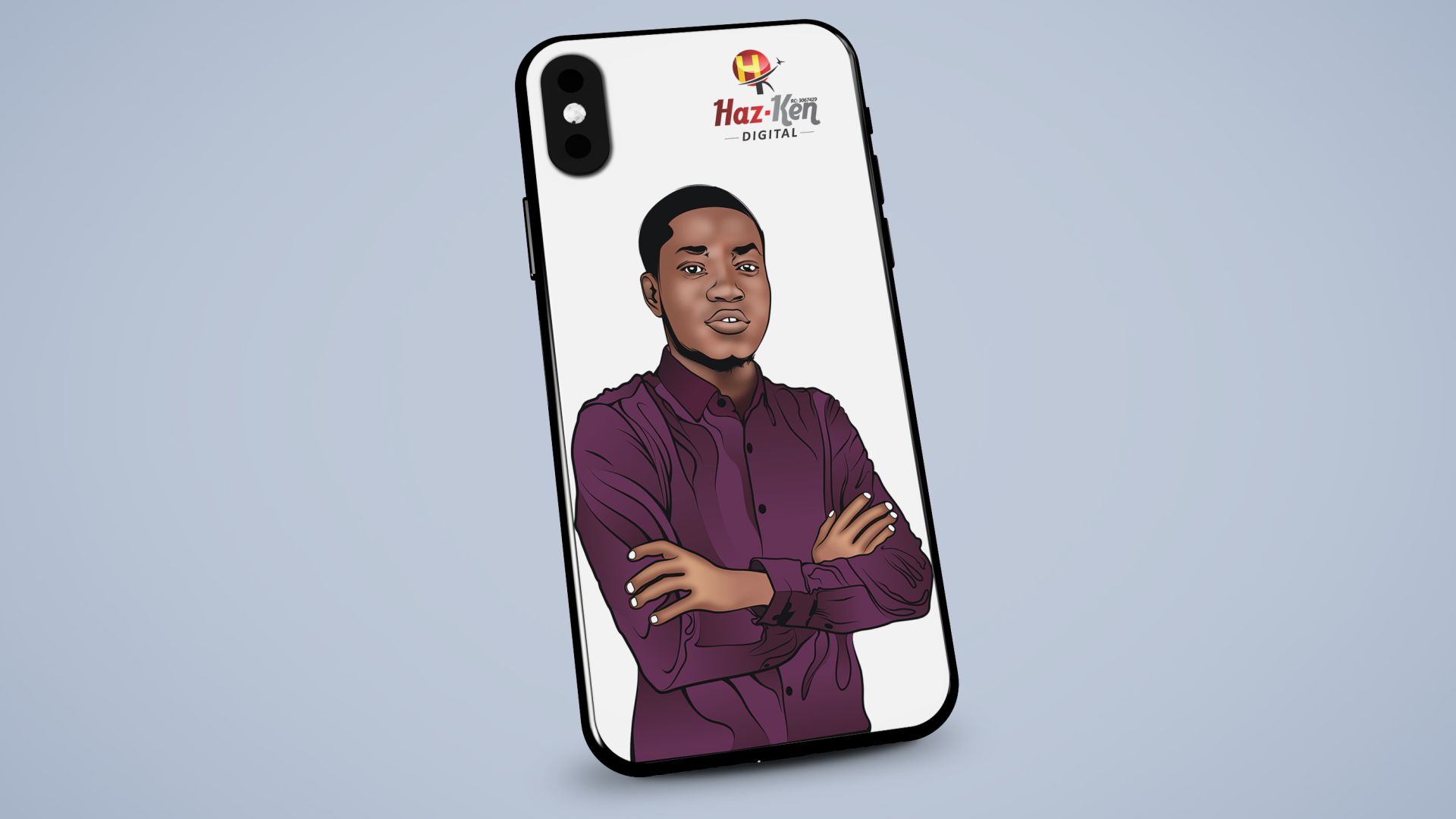 Customized iPhone Case/Pouch Design and Printing in Lagos Nigeria
