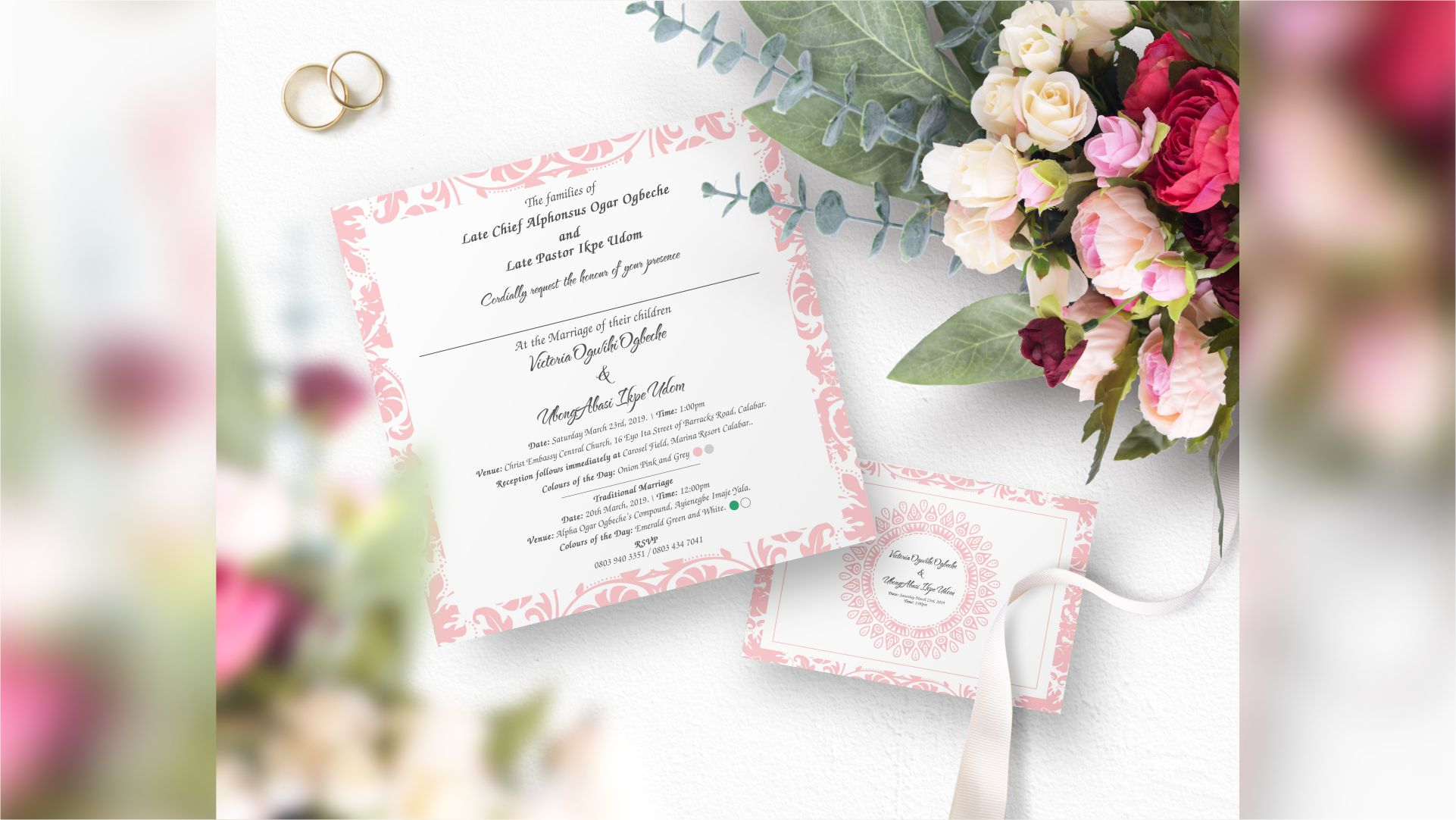 Wedding Invitation Cards Designs and Printing in Lagos Nigeria