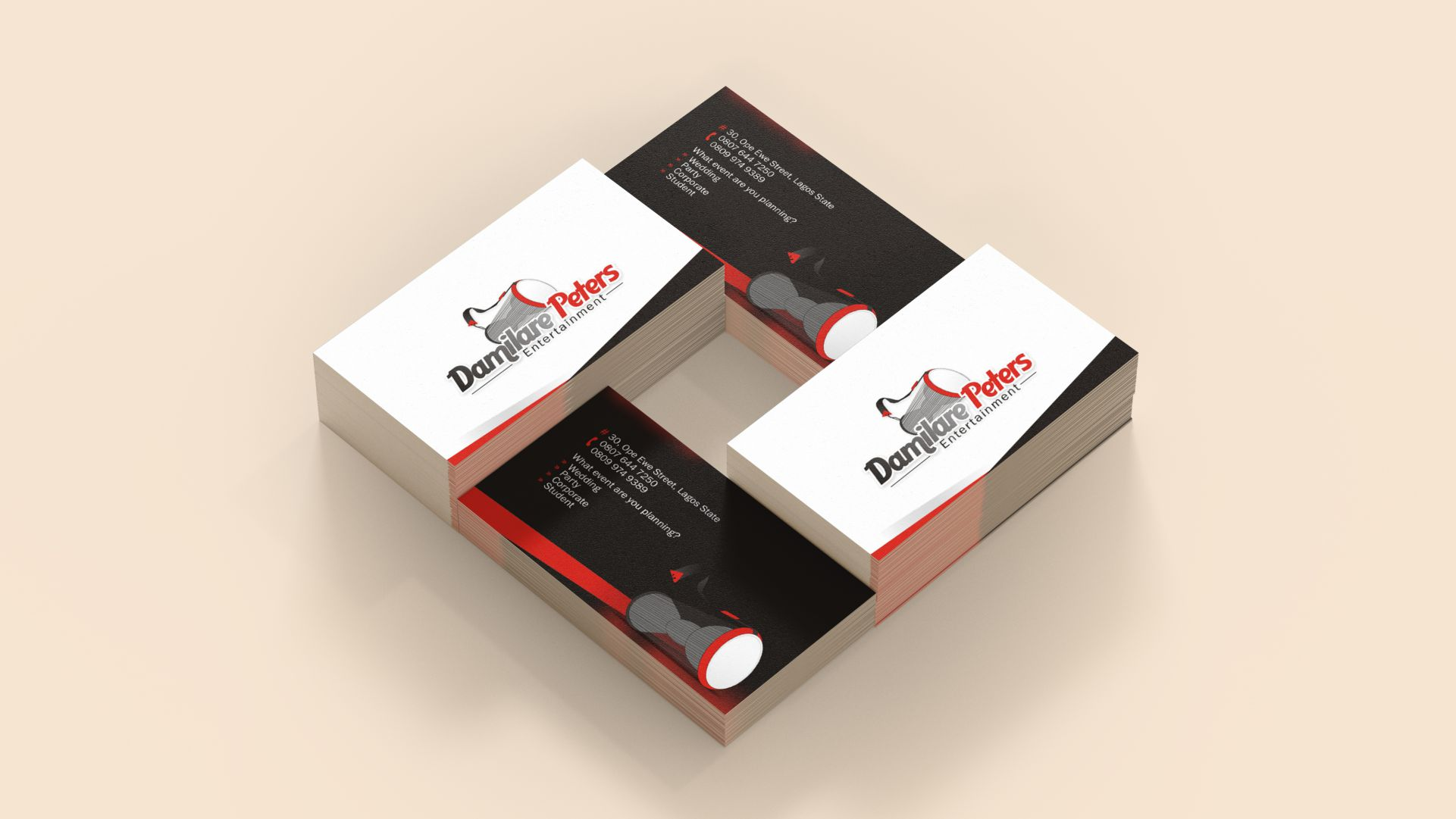 Business Card Design and Printing in Lagos Nigeria