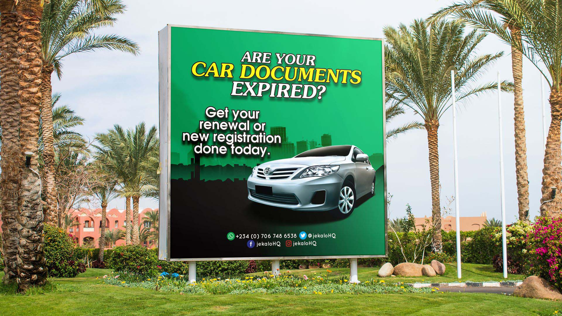 Flex Banner Printing and Design in Lagos Nigeria