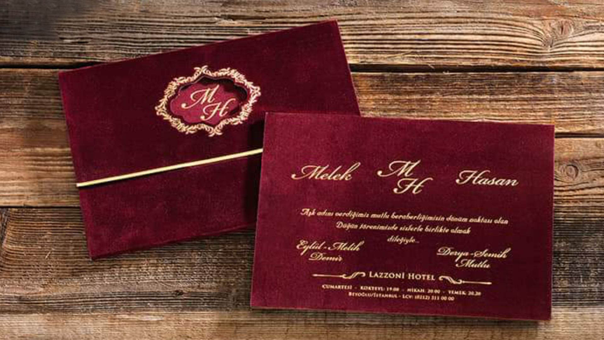 Beautifully Designed Wedding Invitations Cards in Nigeria