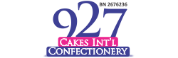 927 cakes int'l logo international cakes