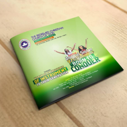 church programs design and printing in Lagos Nigeria