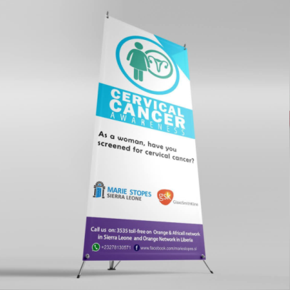 Roll-up banner printing in lagos nigeria