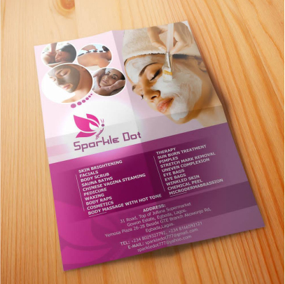 quality flyers printing in Lagos Nigeria